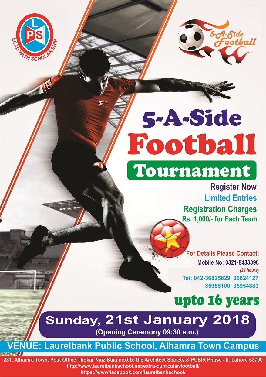 5 a side football tournament 2018 laurelbank school system 5 a side football tournament invitation letter stopboris Gallery