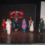 Students from Shalimar Campus paying tribute to the folk culture of Pakistan.
