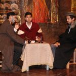 A scene from the play 'The Merchant of Venice'