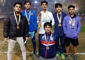 'Golazo LHR', the champions of the tournament